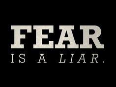 Fear is a liar! Motivational Video. - YouTube