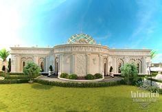 Luxury Villa Exterior Abu Dhabi