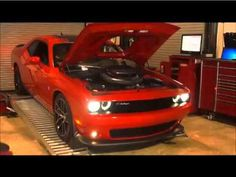 2015 Scatpak Challenger 392 on Dyno at RDP Motorsport