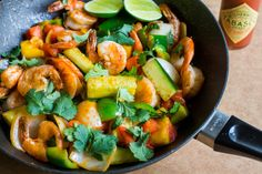 Pad Priew Wan Goong (Thai Sweet and Sour Stir-Fry with Shrimp) by @thedomesticman | The Domestic Man