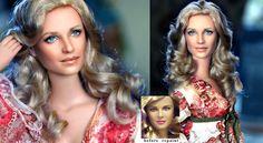 Bionic Woman Lindsay Wagner custom doll repaint by ~noeling on deviantART