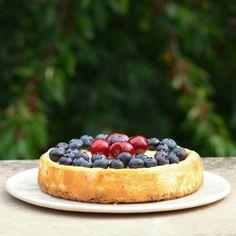 Cheesecake, Stevia, Food, Cheesecakes, Essen, Meals, Yemek, Cherry Cheesecake Shooters, Eten