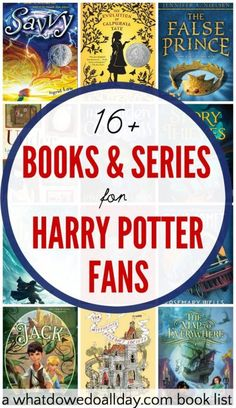 Series and books to read for kids who like Harry Potter.