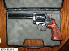 """S&W """"L"""" frame, model 586; I won a gun just like this one and only used it in IPSC (major) and Distinguished (PPC) matches. It was a real winner. Find our speedloader now! http://www.amazon.com/shops/raeind"""