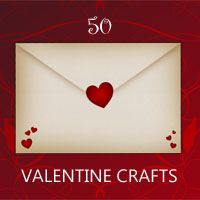50 amazing Valentine crafts: Rustic Crafts & Chic Decor