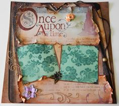 Fairytale Scrapbook- 12x12 Once Upon A Time Scrapbook