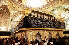Tomb of Muslim Ibn Aqil inside the Great mosque of Kufa in Najaf