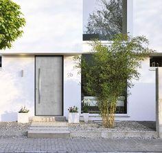Homeplaza - Haustürfüllungen überzeugen durch Optiken von Rost bis Stahl - Moderne Baustoffe für die Haustür