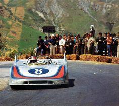 Porsche 908 in the Targa Florio.