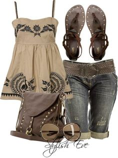 Best Casual Fashion Part 12 Bbq Outfits, Summer Fashion Outfits, Cute Summer Outfits, Pretty Outfits, Spring Summer Fashion, Stylish Outfits, Spring Outfits, Fashion Mode, Look Fashion
