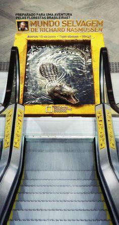 Publicidad ambiental... una selección de publicidades en la calle que logran llamar la atención!!