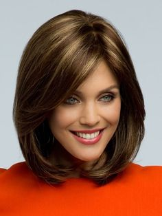 Shoulder Length Wig Ombre Brown Wig Short Straight Hair Bob Hair Elegant Women's Wigs Heat Resistant Synthetic Hair Wigs for Women Ladies Girls Natural Wig for Costume Party Daily Wear Prom Mommy Gifts Christmas Halloween Hair Accessories Hairstyles With Bangs, Straight Hairstyles, Cool Hairstyles, Wedding Hairstyles, Bob Hairstyle, Hairstyles 2016, Hairstyle Ideas, Balayage Hairstyle, Blonde Hairstyles