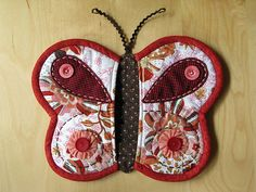 Butterfly pot holders