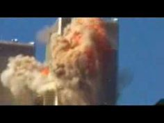 A firefighter's video of the first plane crash on 9-11.