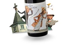 Blasted Church Vineyards' bottles are incredibly inspiring & playful. The design is Bernie Hadley-Beauregard, Laurie Millotte & illustrator Chris Sickels of Red Nose Studio. Packaging Design Inspiration, Graphic Design Inspiration, Wine Label Design, Graphic Projects, Bottle Packaging, Wine Tasting, Hadley, Art Direction, The Help