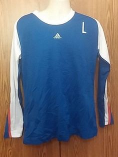 Adidas Long Sleeve Sports Shirt Team Performance  #adidas #ShirtsTops