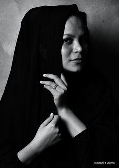 hijab, photographed by Panji T Utama
