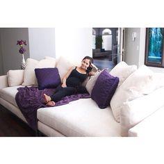 @sosweetbites loves our Ventura Sofa!