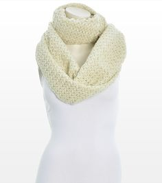 This textured eternity scarf is all you need to dress up your everyday winter look. Winter Looks, Style Me, Winter Fashion, Scarves, Dress Up, Product Description, Knitting, Inspiration, Clothes