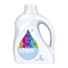 Cheer Ultra Liquid Free & Gentle 64 Loads 100 Fl Oz (Pack of Stay colorful. Cheer is made for colorful clothes. Release Date: Dimensions: width: height: Bottle made from or more post-consumer recycled plastic.