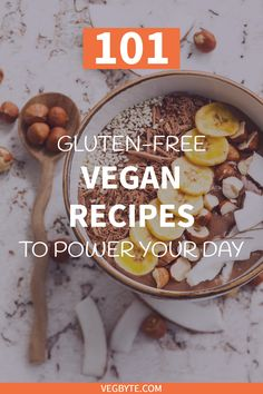 Looking around for delicious, gluten-free vegan recipes you can make at home? Come check out our list of the best gluten-free vegan recipes! Gluten-Free Vegan Diet | Gluten-Free Vegan Food | Healthy Gluten-Free Vegan Recipes | Gluten-Free Vegan Salads | Gluten-Free Vegan Bread Recipes | → VegByte.com | #glutenfreeveganrecipes | #healthyglutenfreeveganrecipes | #glutenfreevegandiet