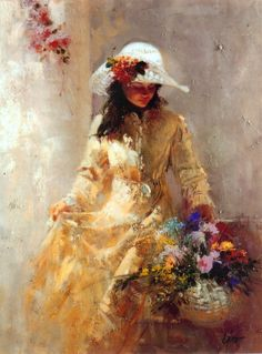 Pino, pino deani,Impression figures, oil painting, canvas,masterpiece