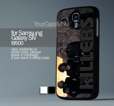 The Killers For Samsung Galaxy S4 Hard Plastik Black Case | YourCazeMate - Accessories on ArtFire