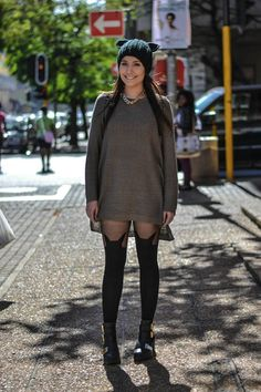 The finest Joburg street style - LOVE this look!! #happyinfashion