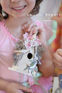 Fairy house craft - Fairies, Garden Fairies Birthday Party Ideas   Photo 10 of 27   Catch My Party