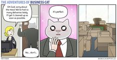 The Adventures of Business Cat | Valhalla