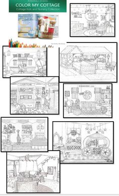 The Kids room and nursery collection from Color My Cottage to purchase go to www.periwinkledesigns.com Free Printable Word Searches, Free Printables, Coloring Books, Kids Room, Cottage, Nursery, Personalized Items, Collection, Design