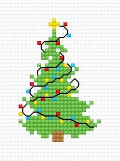 Christmas tree (holiday, winter, tree, Christmas)