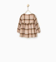 Checked dress-DRESSES-BABY GIRL | 3 months-4 years-KIDS | ZARA United Kingdom
