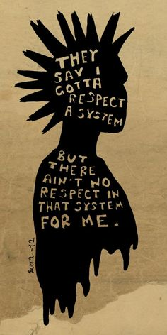 quote Black and White text Typography anarchy punk respect system punk is not dead punk's not dead quote image respect the system Cool Animes, Estilo Punk Rock, Arte Punk, Punk Art, Urbane Kunst, Punks Not Dead, Oeuvre D'art, Grunge, Drawings