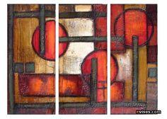 cuadros modernos abstractos conozco a un nino de diez anos q hizo uno muy parecido Abstract Painting Techniques, Texture Painting, Abstract Art, Abstract Paintings, Contemporary Art Daily, Contemporary Artists, Art Decor, Creations, Arts And Crafts