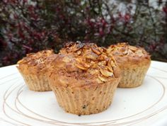 Lemon, poppy seed and oat muffins - CookTogether