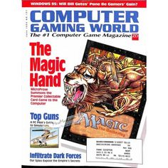 Cover Print of Computer Gaming World, June 1995 | $6.60