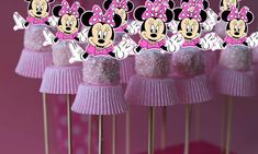 Minnie Mouse Marshmallow Topper Cake Pop by AvaScharlizeShop Minnie Mouse Cake Pops, Minnie Mouse 1st Birthday, Minnie Mouse Baby Shower, Minnie Mouse Party, Mouse Parties, 2nd Birthday, Birthday Parties, Mini Mouse Cupcakes, Fruit Birthday