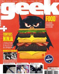Geek Magazine - N° 3 - Septembre & Octobre 2014 Geek Magazine, Star Wars, Geek Stuff, Movies, Movie Posters, Art, Teenage Mutant Ninja Turtles, September, Gaming