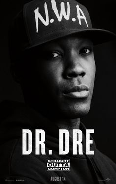 Born: February 18th 1965), Andre Romelle Young known by his stage name Dr. Dre, is an American rapper, record producer, and entrepreneur. He is the founder and current CEO of Aftermath Entertainment and Beats Electronics. Dre was previously the co-owner of, and an artist on, Death Row Records.......(Straight Outta Compton Movie Poster)