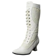 Cute Shoes Flats, Toe Shoes, White Lace Boots, Medieval Boots, Lace High Heels, Winter Shoes For Women, Leather Chelsea Boots, Womens Shoes Wedges, Fashion Boots