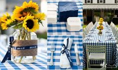 sunflower theme rehearsal dinner | Their country barbeque rehearsal dinner was absolutely charming, with ...