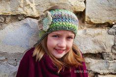 Faux Knit Ear Warmer, #crochet, free pattern, #haken, gratis patroon (Engels), hoofdband, oorwarmer, haakpatroon,