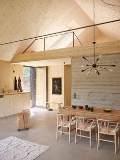 modern Dining room by Backraum Architektur