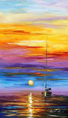 Painting idea - gift for john's dad? art for painting nights Sailboat Painting, Boat Art, Acrylic Art, Art Pictures, Landscape Paintings, Landscapes, Watercolor Paintings, Art Drawings, Art Photography