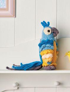 Для любителей оригинальных схем вязания игрушек крючком мы подготовили статью про амигуруми попугая Диего. Вооружайтесь крючком и яркой пряжей и айда с нами вязать разноцветных попугайчиков!