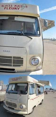 Camion à glaces #FLEURY, #Le Havre, #France