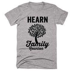 HEARN Family Name Reunion Gathering Surname T-Shirt