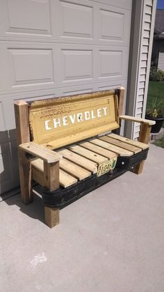 Chevrolet Stepside Tailgate bench with bumper by TailgateGuy