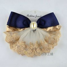 Hair bow pin clip